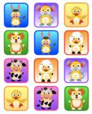VIPKID Rewards - Dino Farm Animals - Memory and Find a Star Games