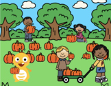VIPKID Rewards - Fall & Thanksgiving - Dino Goes to the Pumpkin Patch