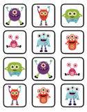 VIPKID Rewards - Older Students - Monsters - Memory and Find a Star Games