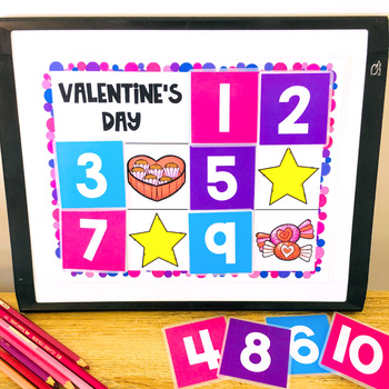 VIPKID Printable Rewards: VIPKID Valentine's Day Find a Star Reward (GogoKid)
