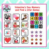 VIPKID Rewards - Valentine's Day - Memory and Find a Star Games