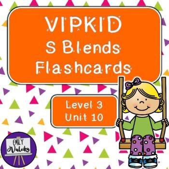VIPKID S Blends Flashcards (Level 3, Unit 10)