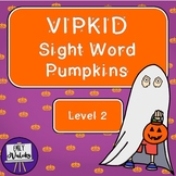 VIPKID Sight Word Pumpkins (Level 2)