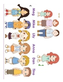 VIPKID Slide Characters