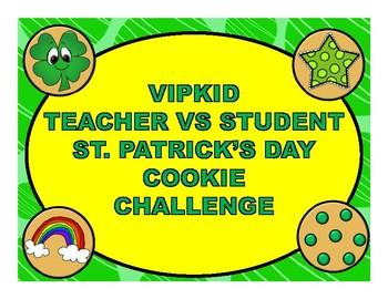 VIPKID St. Patrick's Day Cookie Challenge