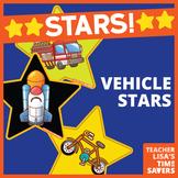 VIPKID Star Reward Set of 8 - Transporation - Vehicles