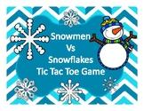 VIPKID TIC TAC TOE REWARD GAME SNOWMEN VS SNOWFLAKES