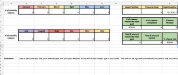 VIPKID Teacher- Goal Tracker!