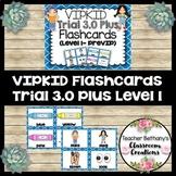 VIPKID Trial 3.0 Plus Level 1 Flashcards