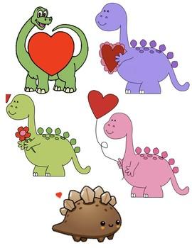 VIPKID Valentine's Day Dinosaur Reward