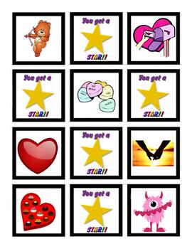 VIPKID - Valentine's Day Holiday Find a Star Reward