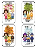 VIPKID Weather Cards