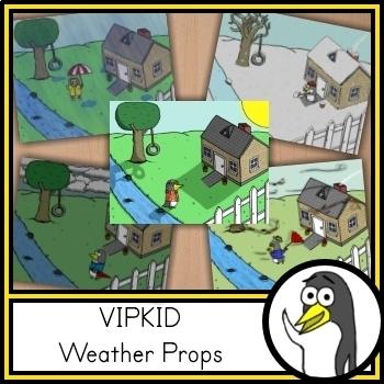 VIPKID Weather Props