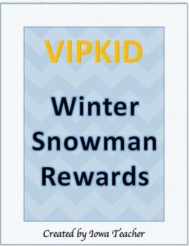 VIPKID Winter Snowman Reward