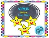 VIPKID Yellow Dino Stars