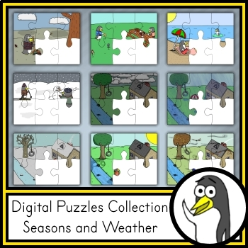 VIPKID / gogokid - Digital Puzzle Collection: Seasons and Weather