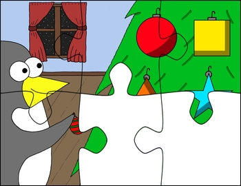 VIPKID / gogokid - Seasonal Digital Puzzle Bundle (ManyCam / CamTwist)