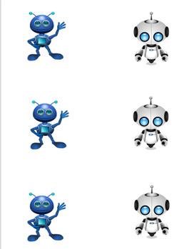 VIPKID Reward System-Robot Tic-Tac-Toe