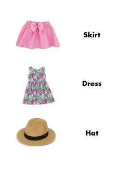 VIPKId Clothing vocabulary, Voice of ViPKid, ESL clothing vocab, games