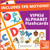VIPKid Alphabet Flashcards - With TPR Motions and Multiple Pics per Letter