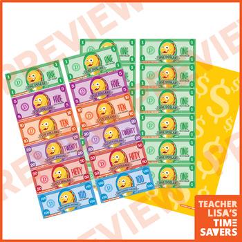 VIPKid Dino Bucks Money Classroom Reward