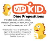 VIPKid Dino Prepositions