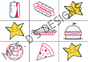 VIPKid FAS Find A Star Rewards: 4th of July Independence Day (Set of 12)