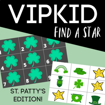 VIPKid FAS Find A Star Rewards: St. Patrick's Day (Set of 12)