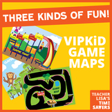 VIPKid Game Map Package - Unit Assessments Replacement