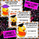 VIPKid Graduation Certificates | Printable Level of Comple
