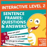 VIPKid Interactive Level 2 Sentence Frames - 223 Questions