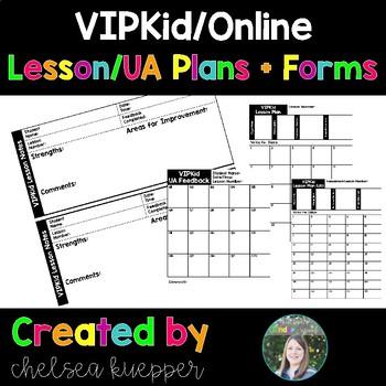 VIPKid Lesson Plans + Forms