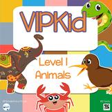 PreVIPKid, VIPKid Level 1 - Animals Printable Set