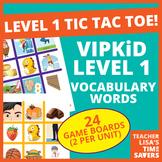 VIPKid Level 1 Pre-VIPKid Vocabulary Tic Tac Toe Reward Set
