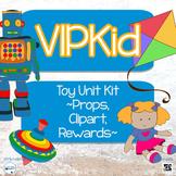 VIPKid Level 2, Unit 5 Toy Unit MEGA Kit... Props, Rewards