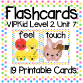 VIPKid Level 2 Unit 7: 25 Printable Flashcards and Props for Teaching ESL Online