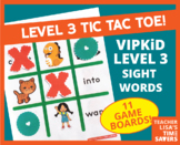 VIPKid Level 3 Sight Word Tic Tac Toe Reward Set