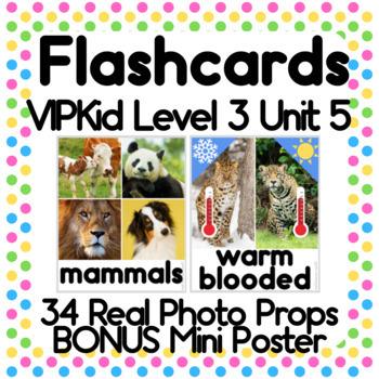 Animals Animals ESL Basic Vocabulary Cards 52 Words Word Packet #3
