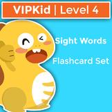 VIPKid Level 4 Sight Word Flashcards