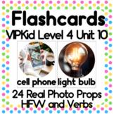 VIPKid NMC MC Level 4 Unit 10: Now & Then Technology Props Printable Flashcards