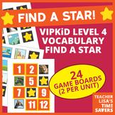 VIPKid Level 4 Vocabulary Find a Star Reward