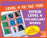 VIPKid Level 4 Vocabulary Tic Tac Toe Reward Set