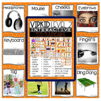 VIPKid Levels 1-5 Ultimate Bundle of Flashcards