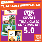 VIPKid NEW 5.0 Trial Survival Kit - Prop Set Flashcards - Level 1 and Level 2