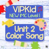 """VIPKid NEW iMC Level 1 Unit 2 """"What Color Is It?"""" Printabl"""