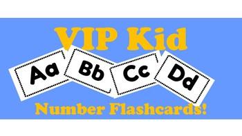 VIPKid Number Flash Cards!