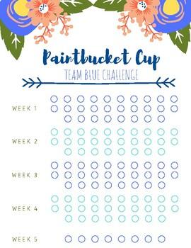 Paintbucket Cup Team Blue Challenge