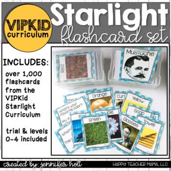 VIPKid Starlight Curriculum Flashcard GROWING Pack