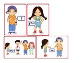 VIPKid Personal Pronouns Flashcards