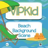 VIPKid Summer Beach Background Set